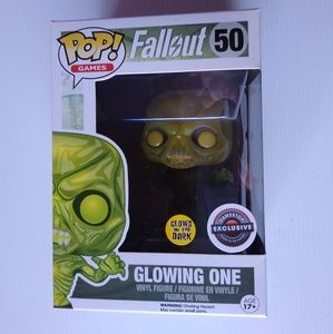 Funko Pop Fallout Glowing One exclusive